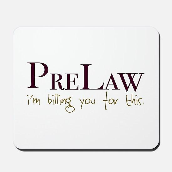 PreLaw Billing Mousepad