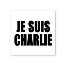 JE SUIS CHARLIE Sticker
