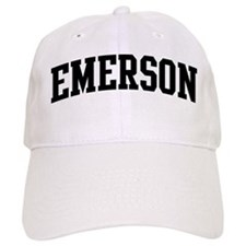 EMERSON (curve-black) Baseball Cap