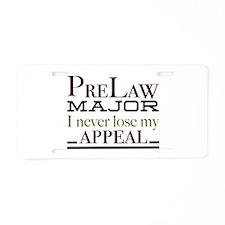 Appeal Aluminum License Plate