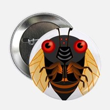 "Cute Cicada 2.25"" Button"