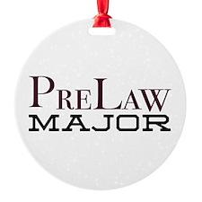 PreLaw Major Ornament