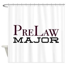 PreLaw Major Shower Curtain