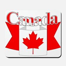 Canada Flag ribbon Mousepad
