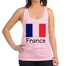 Cute France Racerback Tank Top