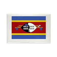 Swazilander Flag Swaziland Rectangle Magnet