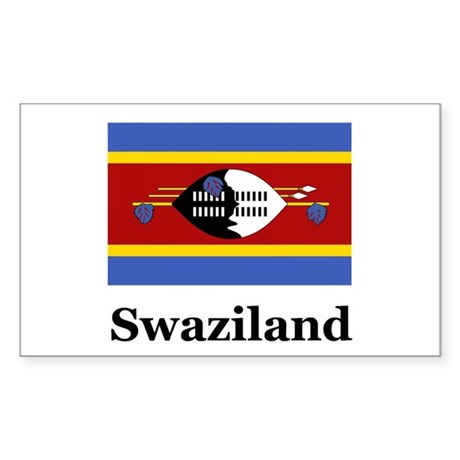 Swazilander Heritage Swazilan Sticker (Rectangular