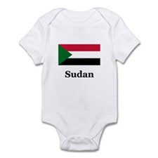 Sudanese Heritage Sudan Infant Bodysuit