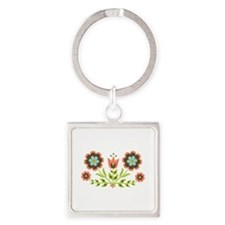 Scandinavian Swedish Decorative Floral Folk Art Bo