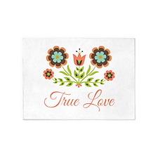 True Love 5'x7'Area Rug