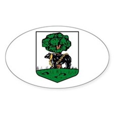 Berwickshire County Council Oval Decal