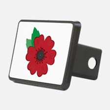 Remembrance Day Poppy Hitch Cover