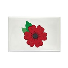 Remembrance Day Poppy Magnets