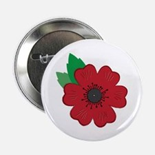 """Remembrance Day Poppy 2.25"""" Button (10 pack)"""