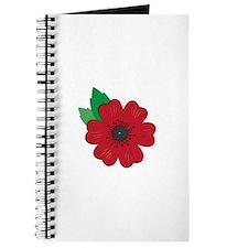 Remembrance Day Poppy Journal