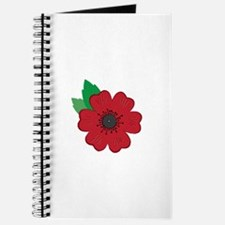 Remembrance Day Poppy Journal