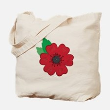 Remembrance Day Poppy Tote Bag