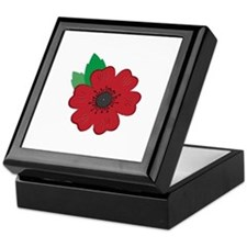 Remembrance Day Poppy Keepsake Box