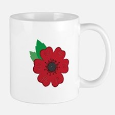 Remembrance Day Poppy Mugs