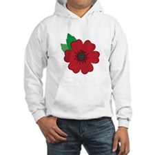 Remembrance Day Poppy Hoodie