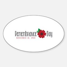 Remembrance day Decal