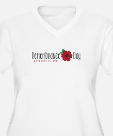 Remembrance day Plus Size T-Shirt