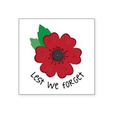 Lest we forget Sticker