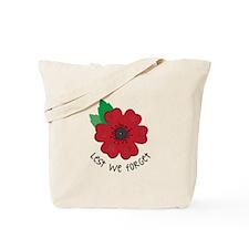 Lest we forget Tote Bag