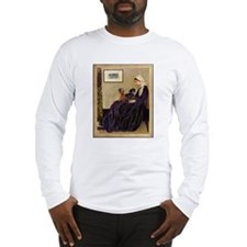 Whistler Mother & Dachshund Long Sleeve T-Shirt