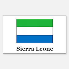 Sierra Leone Heritage Rectangle Decal