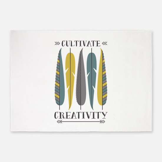 Cultivate Creativity 5'x7'Area Rug