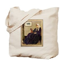 Whistler Mother & Dachshund Pair Tote Bag