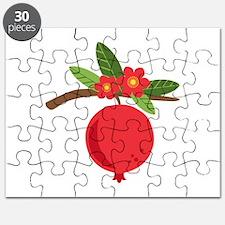 Pomegranate Blossom Fruit Tree Branch Puzzle