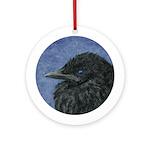 Crow Baby Ornament (Round)