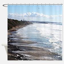 Swami's Beach California Shower Curtain