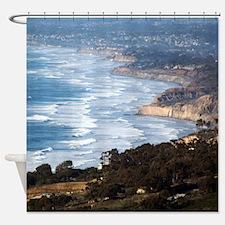 La Jolla and Del Mar Shower Curtain