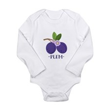 Plum Body Suit