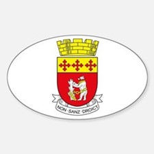 Warwickshire County Council COA Oval Decal