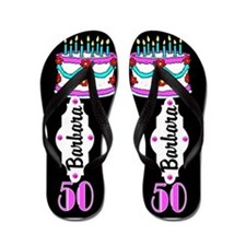 Awesome 50th Flip Flops