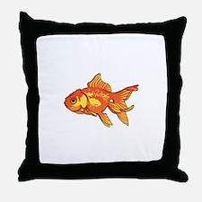FANCY GOLDFISH Throw Pillow