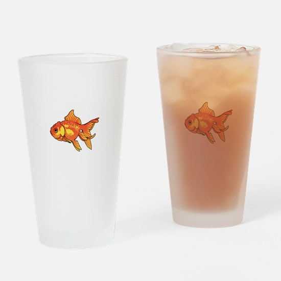 FANCY GOLDFISH Drinking Glass