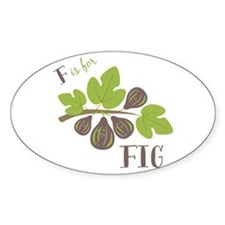 F Is For Fig Decal