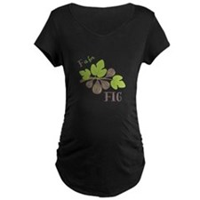 F Is For Fig Maternity T-Shirt