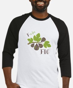F Is For Fig Baseball Jersey