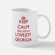 Keep calm we live in Lovejoy Georgia Mugs