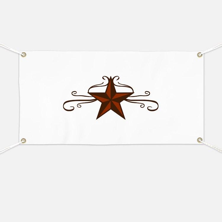 WESTERN STAR SCROLL Banner