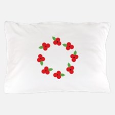 Poppy Wreath Pillow Case