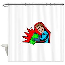 Electronics Engineer Shower Curtain