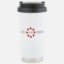 Lest we forget Travel Mug