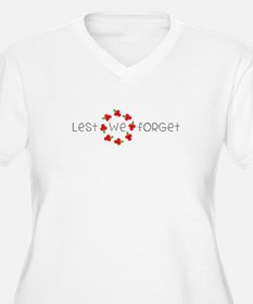Lest we forget Plus Size T-Shirt